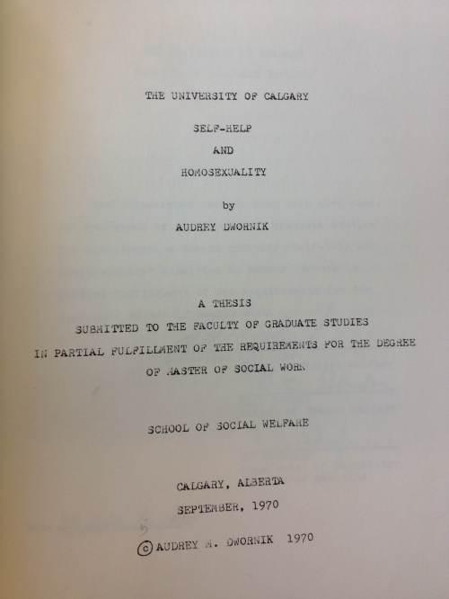 Audrey Dwornik's Thesis
