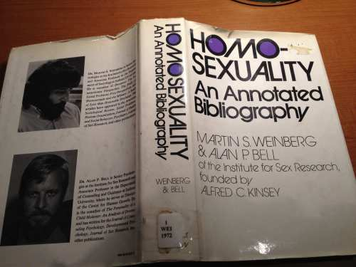 Homosexuality - An Annotated Biography