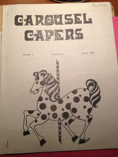 Club Carousel Capers Cover