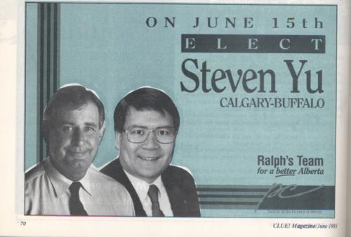 Elect Steven Yu