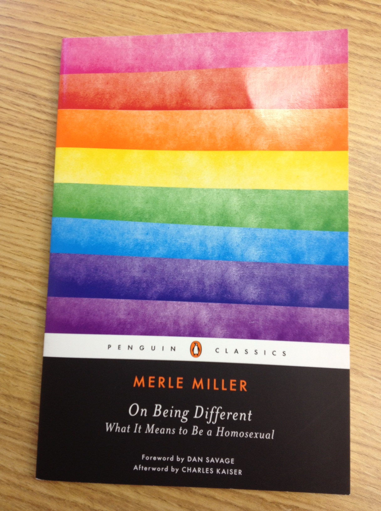 on being different merle miller essay