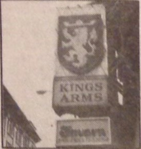 Tavern Sign in 1980