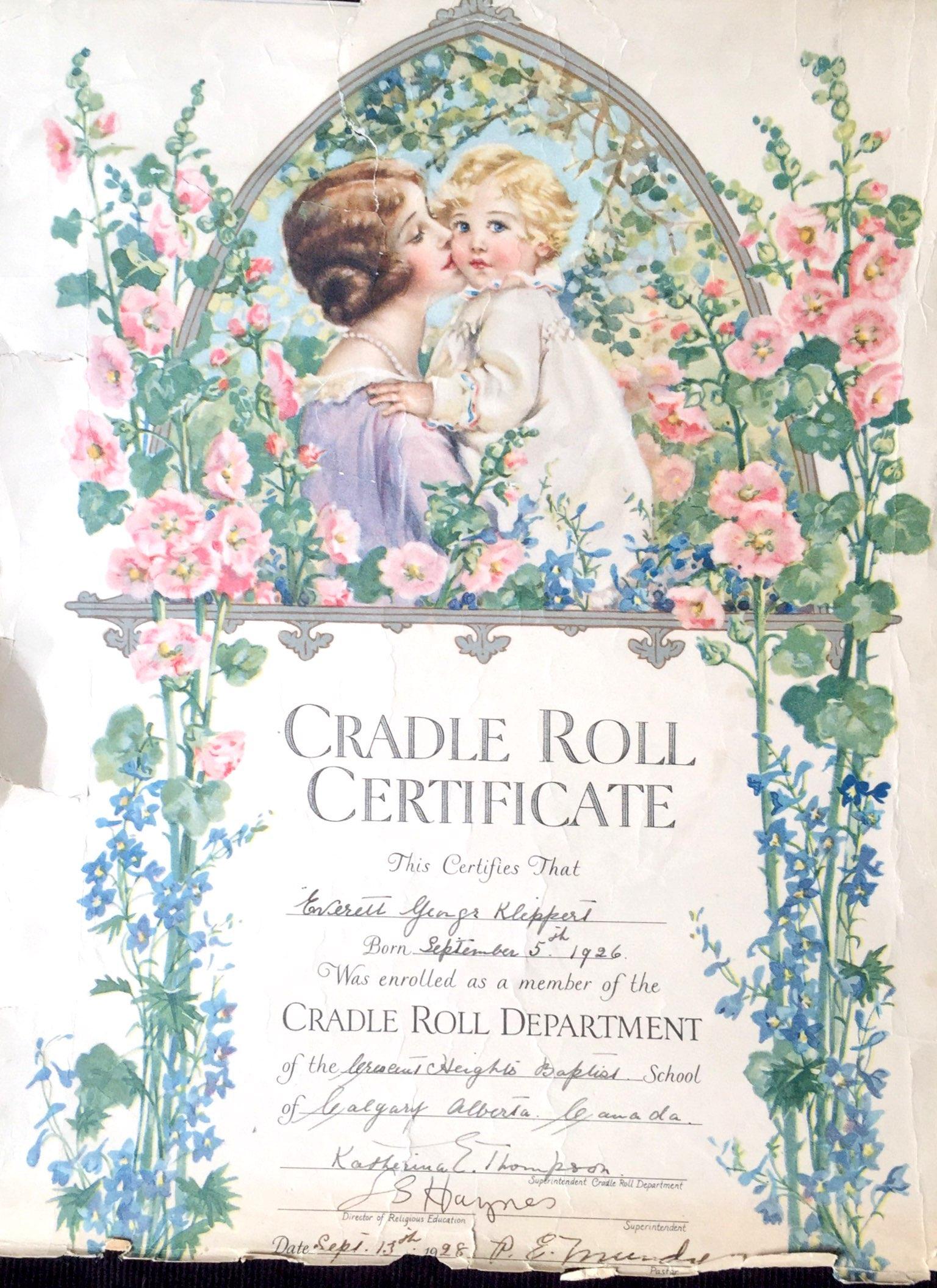 Klippert Cradle Roll