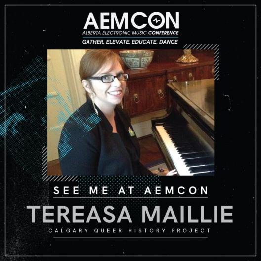 Tereasa at AEMCON