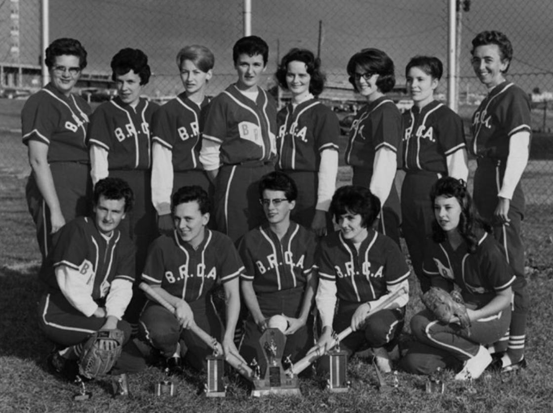 Lesbian Softball in 1965